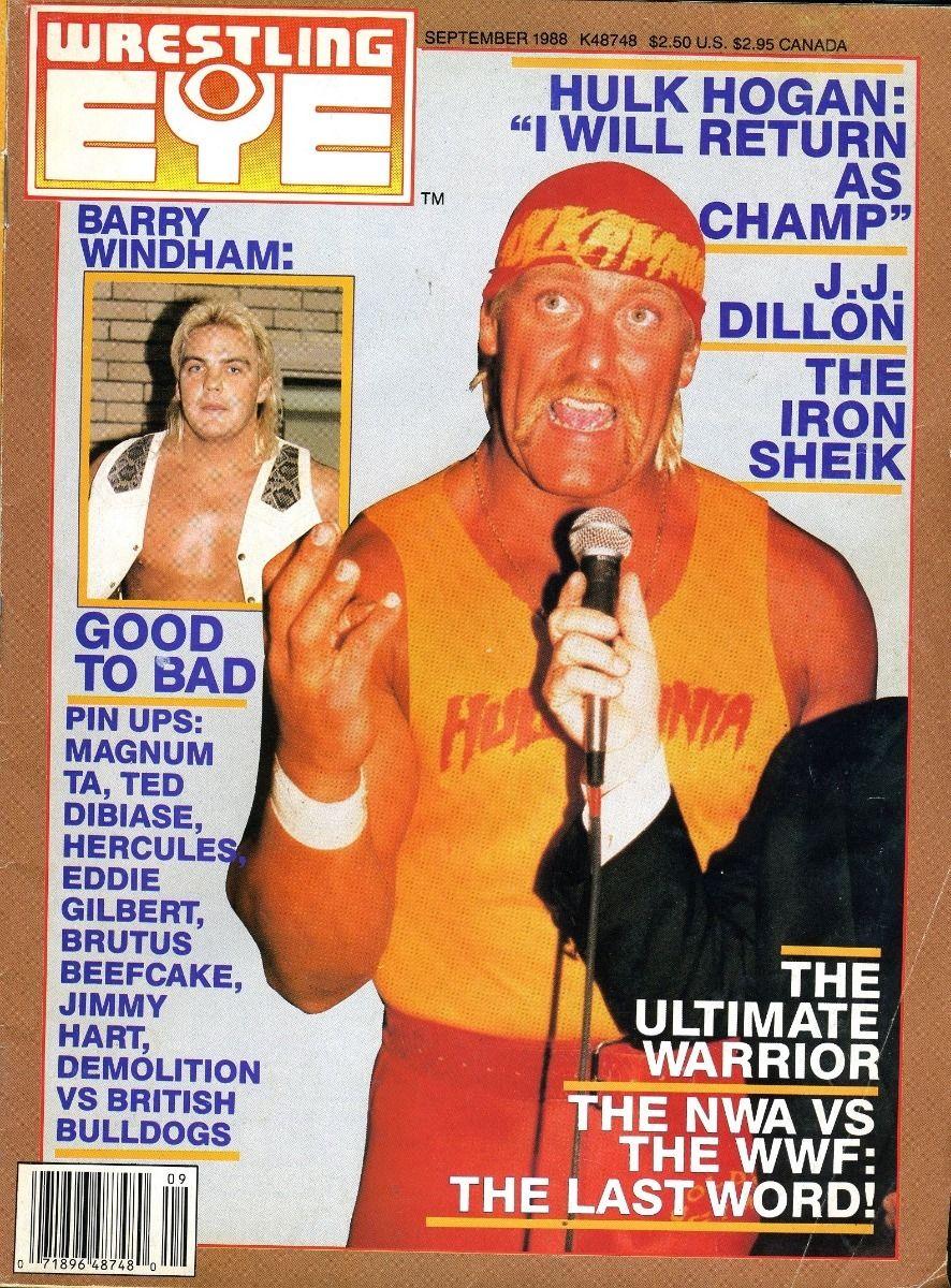 Wrestling Eye - September 1988