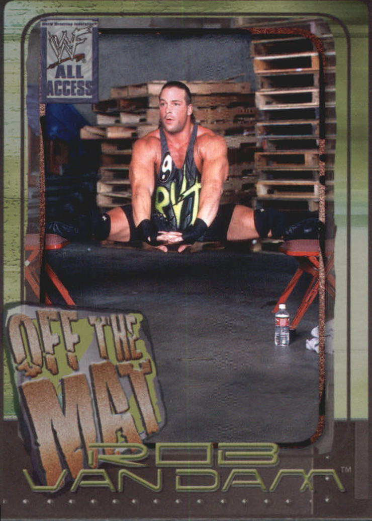 2002 WWF All Access (Fleer) Rob Van Dam (No.73)