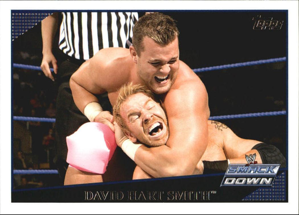 2009 WWE (Topps) David Hart Smith (No.68)