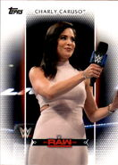 2017 WWE Women's Division (Topps) Charly Caruso 16