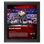 Big E Payback 2020 15x17 Commemorative Plaque