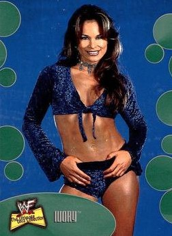 2001 WWF The Ultimate Diva Collection (Fleer) Ivory (No.10)