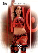 2017 WWE Women's Division (Topps) Brie Bella 12