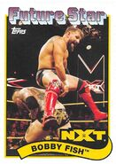 2018 WWE Heritage Wrestling Cards (Topps) Bobby Fish 96