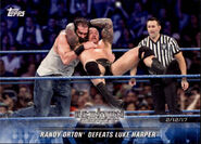 2018 WWE Road to Wrestlemania Trading Cards (Topps) Randy Orton 72