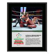AJ Styles Greatest Royal Rumble 2018 10 x 13 Photo Plaque
