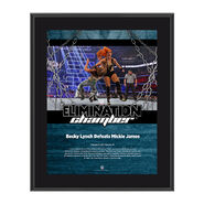Becky Lynch Elimination Chamber 2017 10 x 13 Commemorative Photo Plaque