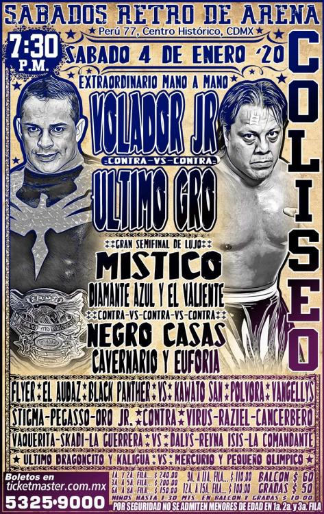 CMLL Sabados De Coliseo (January 4, 2020)
