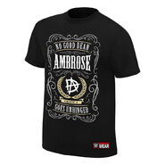 Dean Ambrose No Good Dean Goes Unhinged Youth Authentic T-Shirt