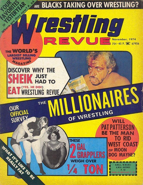 Wrestling Revue - November 1974