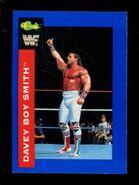 1991 WWF Classic Superstars Cards Davey Boy Smith 7