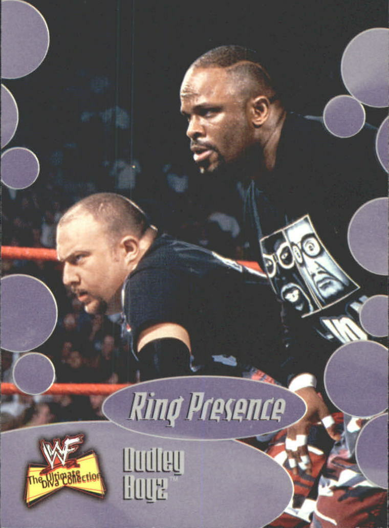 2001 WWF The Ultimate Diva Collection (Fleer) Dudley Boyz (No.62)
