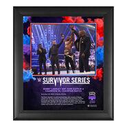 Bobby Lashley Survivor Series 2020 15 x 17 Commemorative Plaque