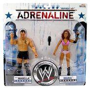 WWE Wrestling Adrenaline Series 32 Santino Marella & Maria