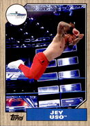 2017 WWE Heritage Wrestling Cards (Topps) Jey Uso 51