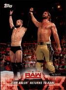 2018 WWE Road to Wrestlemania Trading Cards (Topps) Finn Balor 31