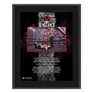 Io Shirai NXT TakeOver Vengeance Day 10x13 Commemorative Plaque