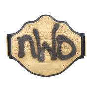 NWO Spraypaint WCW Championship Replica Title
