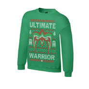 Ultimate Warrior Ugly Holiday Sweatshirt