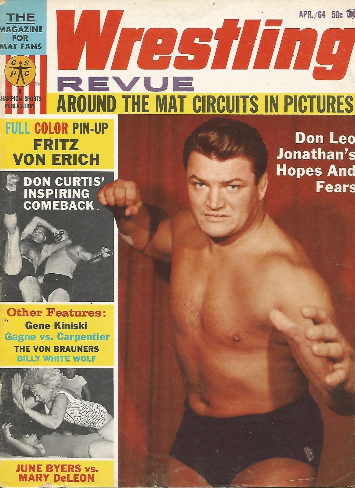 Wrestling Revue - April 1964