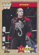 2017 WWE Heritage Wrestling Cards (Topps) Sting 96