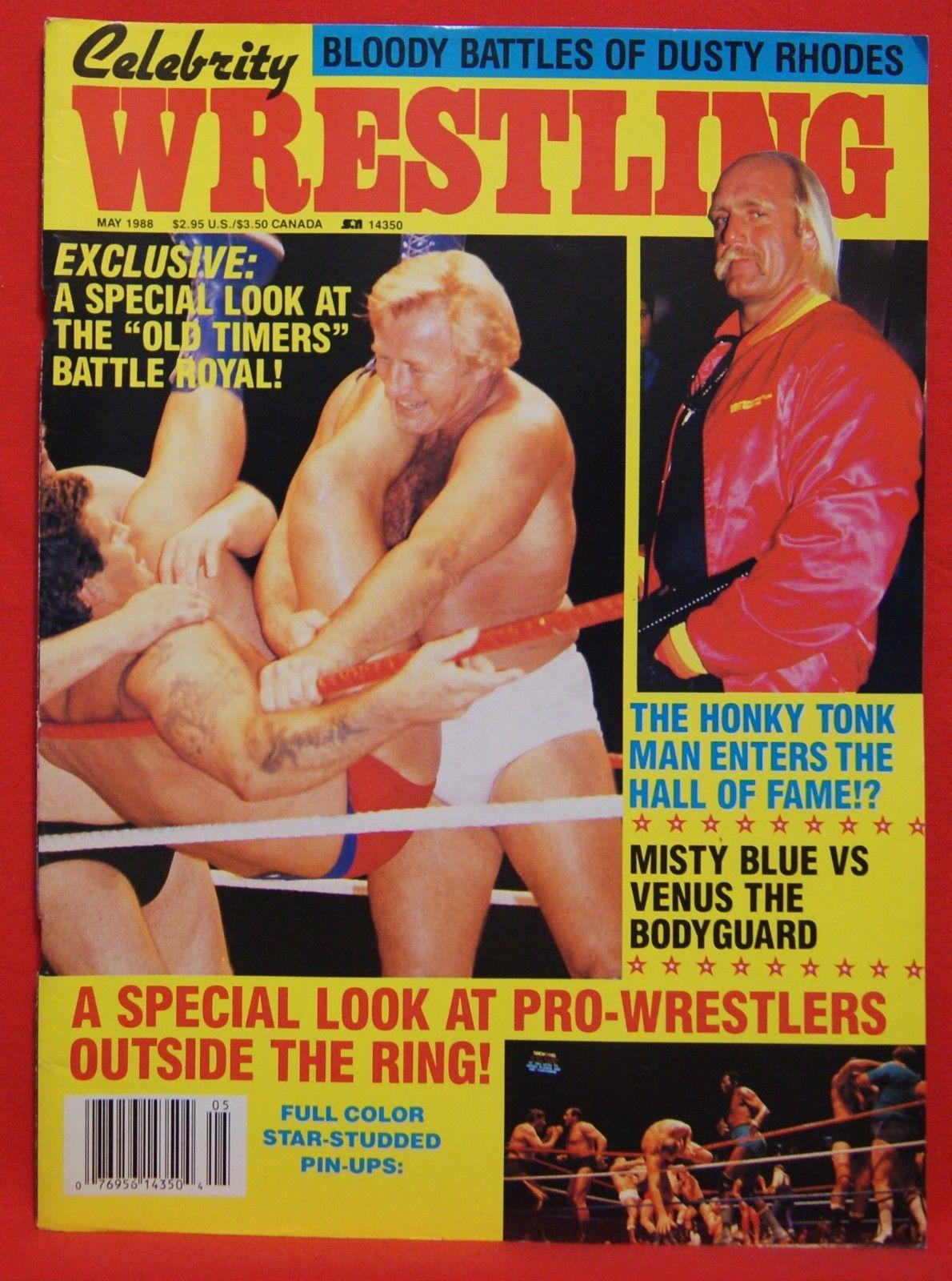 Celebrity Wrestling - May 1988