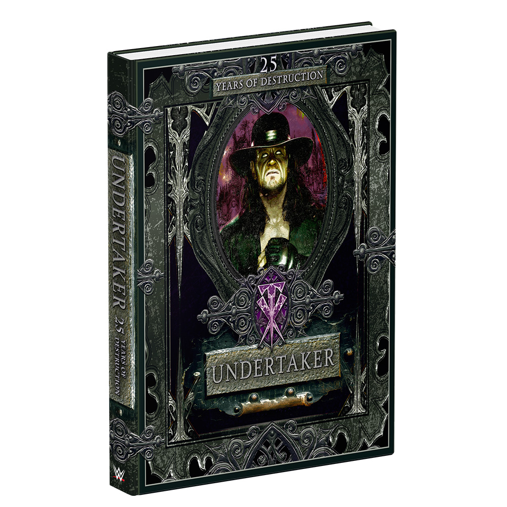 Undertaker: 25 Years of Destruction Hardcover Book