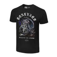 Undertaker Boneyard Burial Authentic T-Shirt