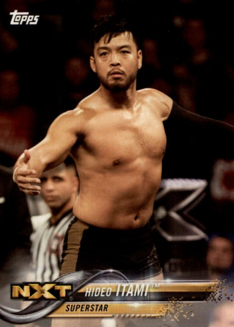 2018 WWE Wrestling Cards (Topps) Hideo Itami (No.37)