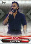 2019 WWE Raw Wrestling Cards (Topps) Samir Singh 64