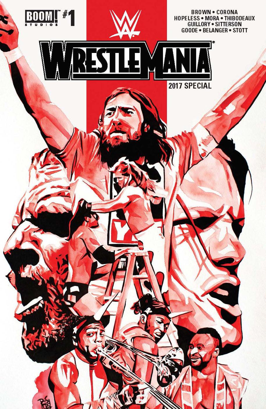 WrestleMania 2017 Special Comic Book