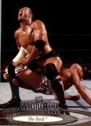 2003 WWE WrestleMania XIX (Fleer) The Rock 50