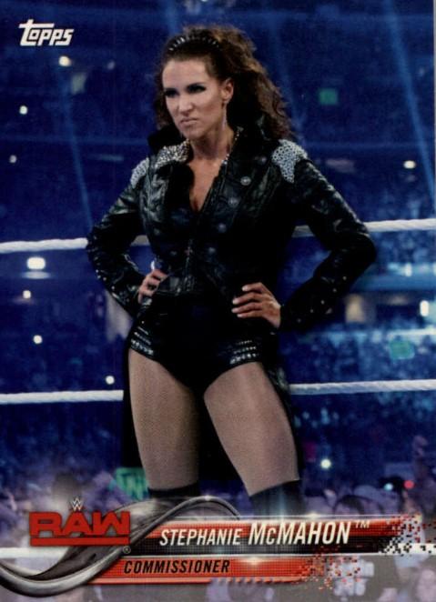 2018 WWE Wrestling Cards (Topps) Stephanie McMahon (No.86)