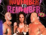 November to Remember 1997