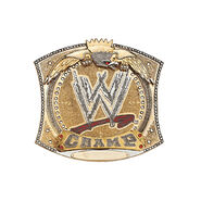 WWE Championship Spinner Belt Buckle
