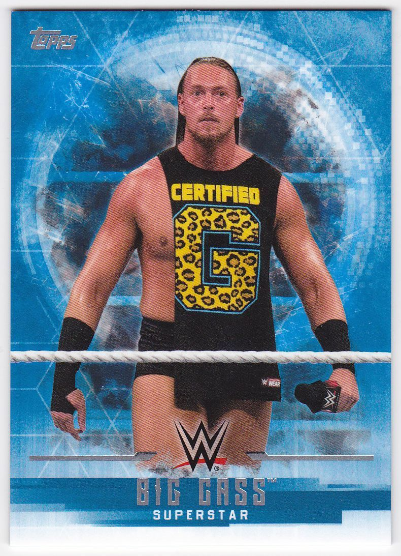 2017 WWE Undisputed Wrestling Cards (Topps) Big Cass (No.3)