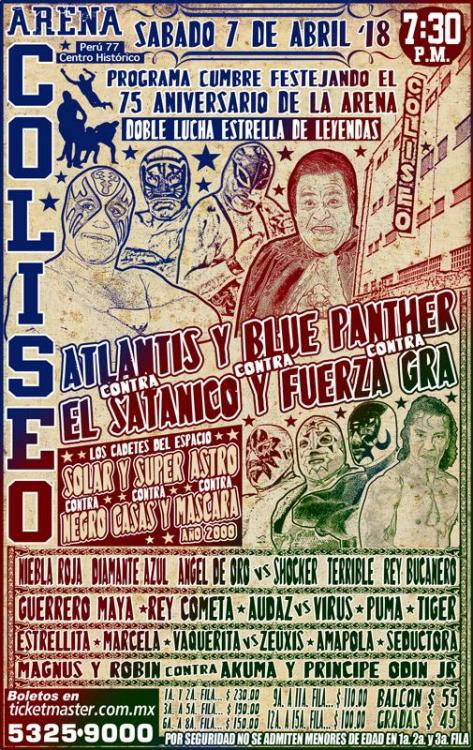 CMLL Sabados De Coliseo (April 7, 2018)
