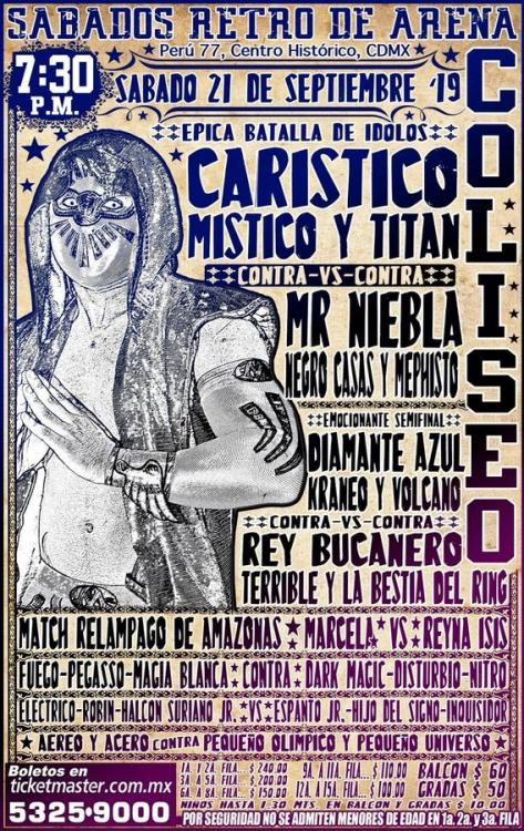 CMLL Sabados De Coliseo (September 21, 2019)