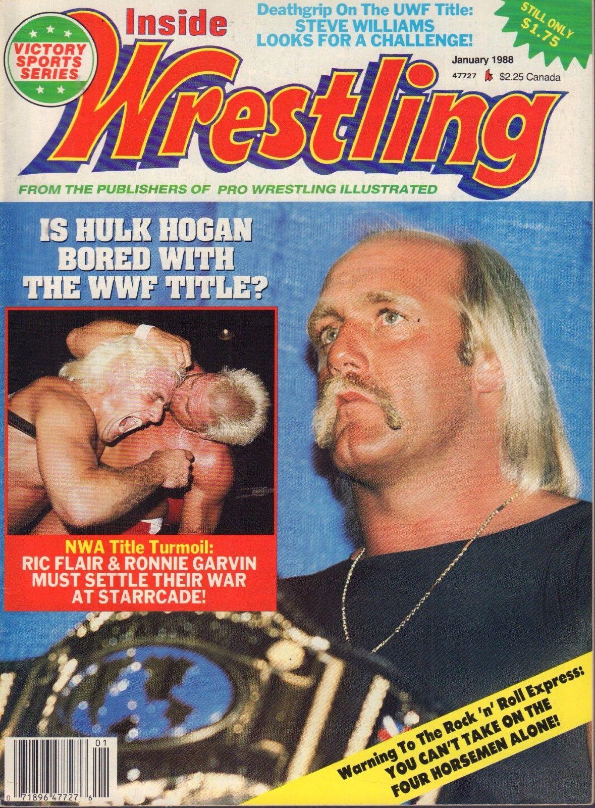 Inside Wrestling - January 1988