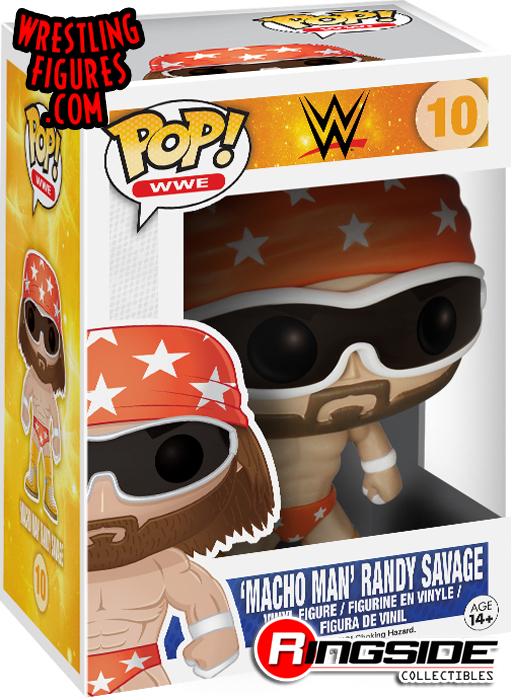 Randy Savage - Pop WWE Vinyl (Series 2)