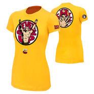 John Cena U Can't C Me Yellow Women's T-Shirt