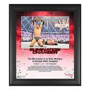 The Miz Elimination Chamber 2021 15x17 Commemorative Plaque