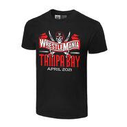 WrestleMania 37 Logo T-Shirt