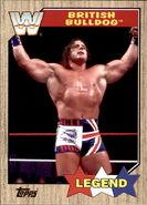 2017 WWE Heritage Wrestling Cards (Topps) British Bulldog 72