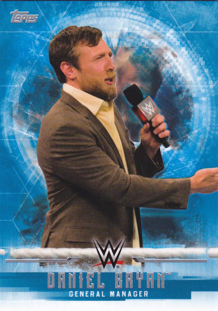 2017 WWE Undisputed Wrestling Cards (Topps) Daniel Bryan (No.11)