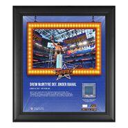Drew McIntyre SummerSlam 2021 15x17 Commemorative Plaque