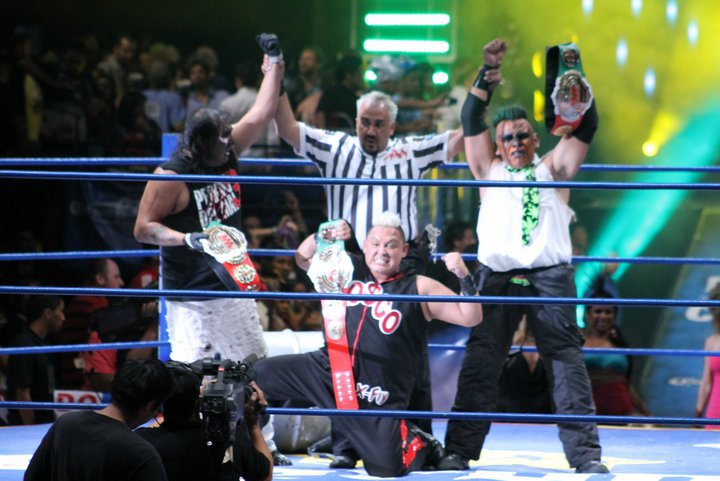 AAA World Trios Championship/Champion gallery