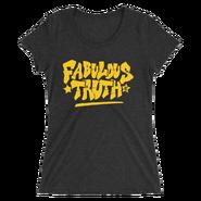 R-Truth & Carmella MMC Fabulous Truth Women's Tri-Blend T-Shirt