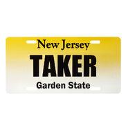 Undertaker NJ License Plate
