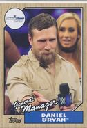 2017 WWE Heritage Wrestling Cards (Topps) Daniel Bryan 46